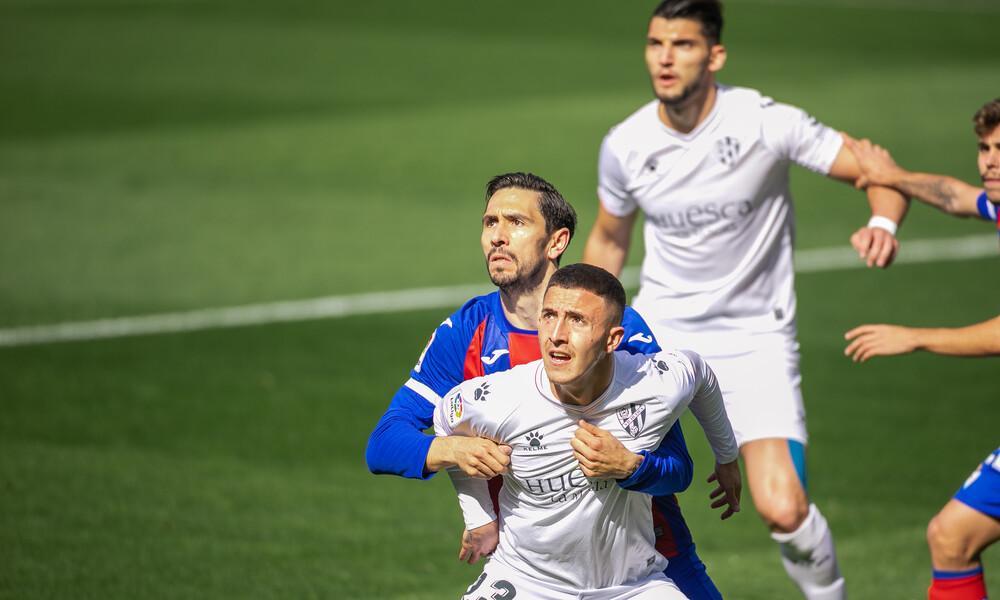 La Liga: Ισόπαλες Εϊμπάρ-Ουέσκα και… χαμός στην «ουρά»! (Video+Photos)