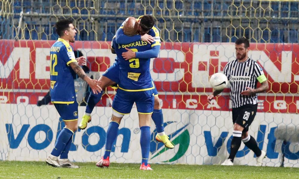 Αστέρας Τρίπολης-ΠΑΟΚ 2-1: Έτσι πήραν τη νίκη οι Αρκάδες (photos+video)