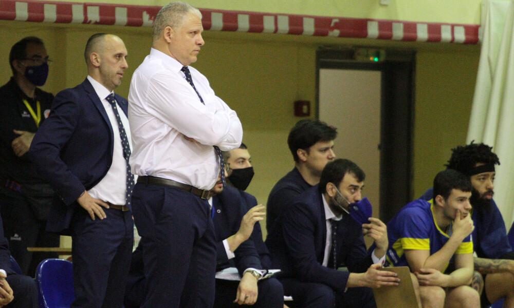 Μανωλόπουλος: «Χαρούμενος που αντέδρασαν οι παίκτες μου»