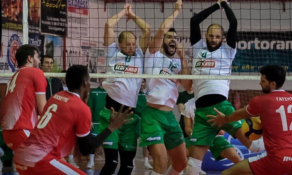 Volley League: Δοκιμασίες για Παναθηναϊκό και ΠΑΟΚ