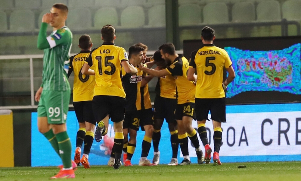 Παναθηναϊκός-ΑΕΚ: Αμυντικό μπέρδεμα και ισοφάριση - Το γκολ του Λιβάι Γκαρσία (video)