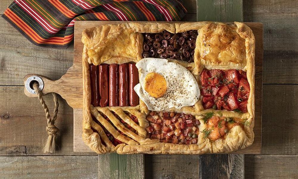 Άκης Πετρετζίκης: Breakfast pie