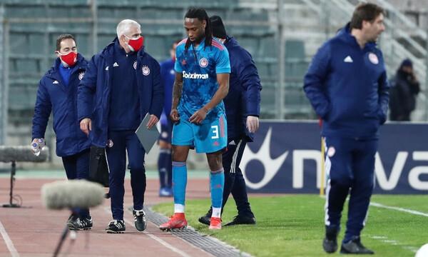 ΝΠΣ Βόλος-Ολυμπιακός: Τραυματίστηκε και αποχώρησε ο Σεμέδο (photos)