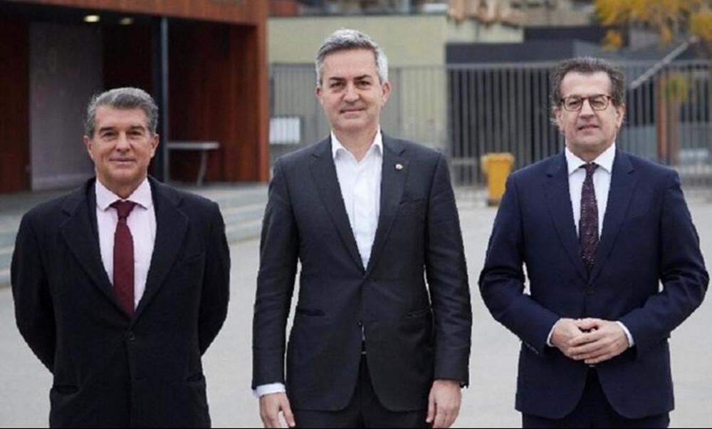 Μπαρτσελόνα: Τρεις υποψήφιοι πρόεδροι διαφωνούν για Τσάβι και Μέσι (photos)