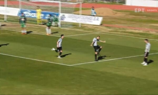 Λεβαδειακός-Καραϊσκάκης: Καρφωτή κεφαλιά Μπιανκόνι και γκολ (video)