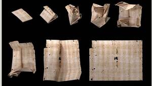 Εντυπωσιακό επίτευγμα: Επιστήμονες διάβασαν... βουλωμένο γράμμα του 1697 χωρίς να το ανοίξουν