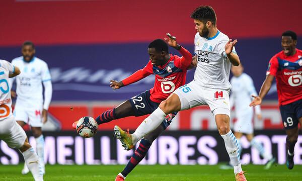 Ligue 1: Νίκη θρίλερ με Μαρσέιγ και κορυφή η Λιλ, ακολουθούν Παρί Σ.Ζ. και Λιόν (video+photos)