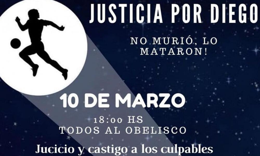 Διαδήλωση για Μαραντόνα: «Δικαιοσύνη για τον Ντιέγκο»! (Photos)