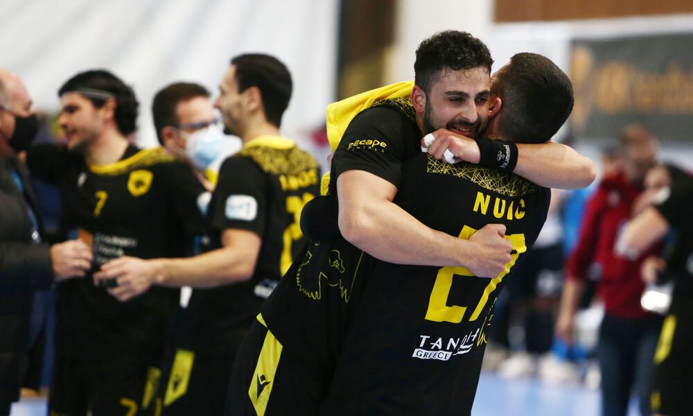 Χάντμπολ: Οριστικά εντός έδρας και οι δύο αγώνες της ΑΕΚ με τη Νέβα για την ιστορική πρόκριση