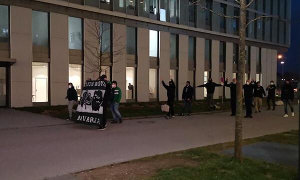 Έκπληξη των «πράσινων» οπαδών στο ξενοδοχείο πριν από το Μπάγερν-Παναθηναϊκός ΟΠΑΠ (videos)