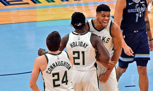 NBA: Λύτρωση με Χόλιντεϊ για Μπακς (photos+videos)