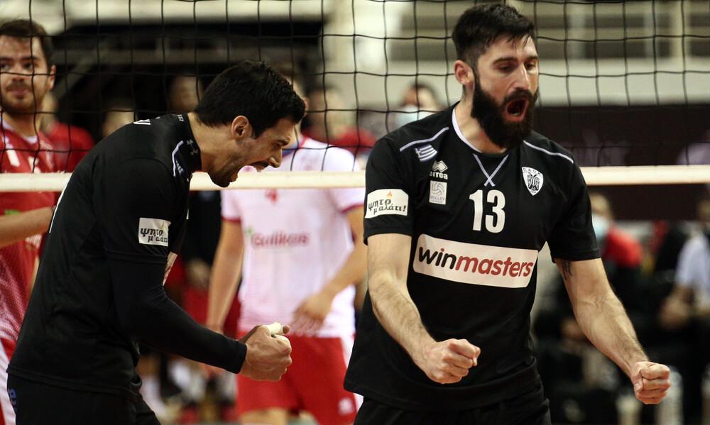 Volley League: Σπουδαία νίκη της Κηφισιάς στη Σύρο, προσπέρασε ο ΠΑΟΚ!