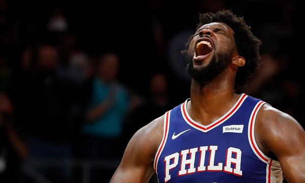 NBA: Η σπουδαία κίνηση του Εμπίντ (photos)