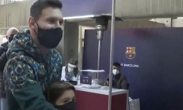 Μπαρτσελόνα: Ψήφισε για πρόεδρο ο Μέσι (video)