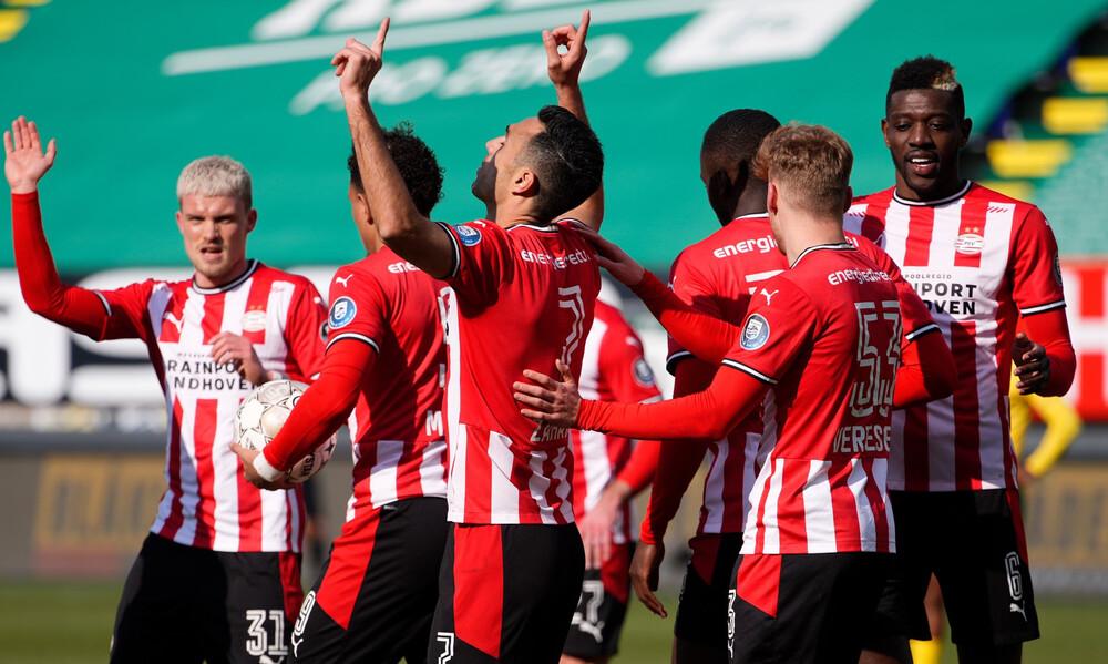 Eredivisie: Απάντησε στη νίκη του Άγιαξ η Αϊντχόφεν (photos)
