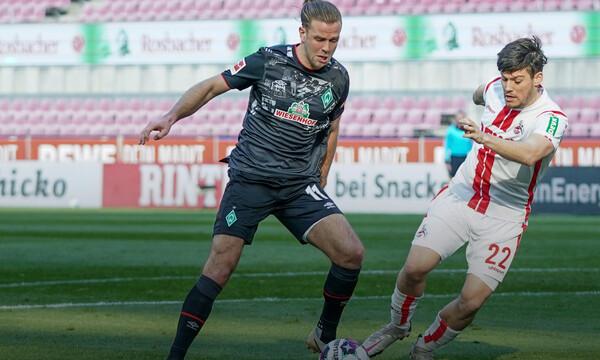 Bundesliga: Σημαντικό βήμα για την παραμονή η Βέρντερ Βρέμης κόντρα στην Κολωνία (video)