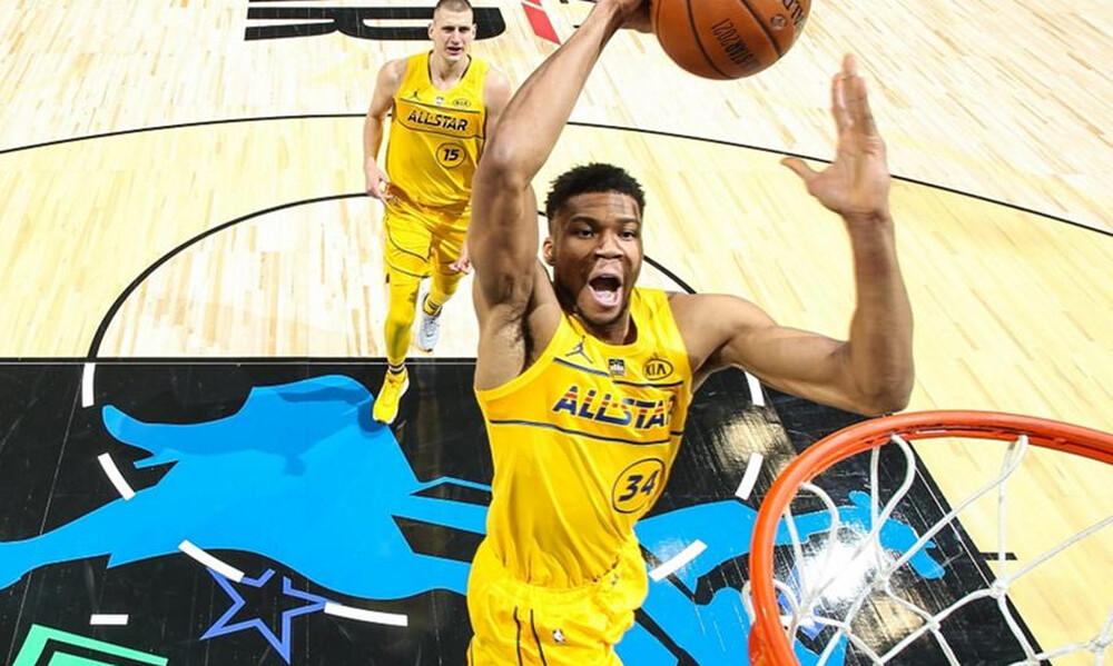 NBA: MVP στο All Star Game ο Γιάννης (photos+video)