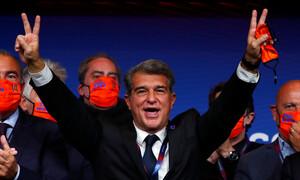 Μπαρτσελόνα: Η υπόσχεση Λαπόρτα για Μέσι - Τι είπε για τα χρέη της ομάδας (photos)