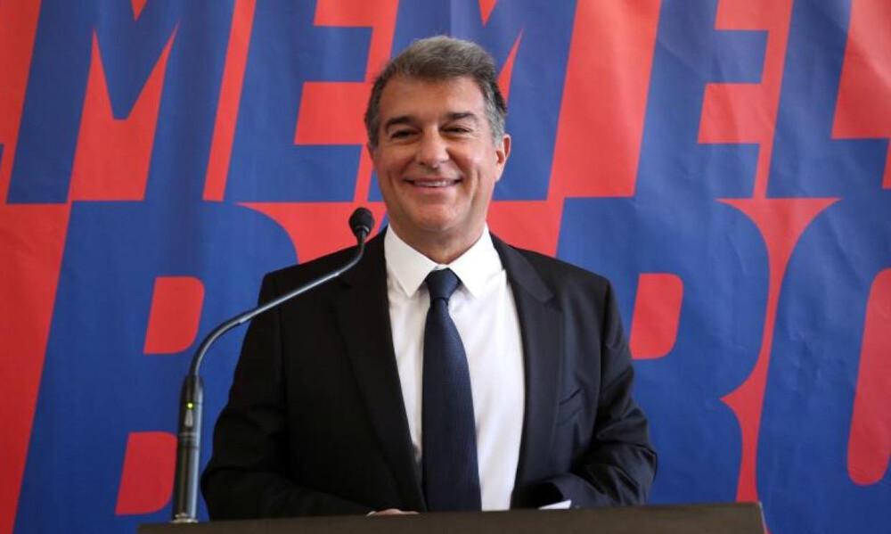 Μπαρτσελόνα: Έπιασε δουλειά ο Λαπόρτα - Άμεσα συνάντηση με βασικό στόχο της Ρεάλ (photos)