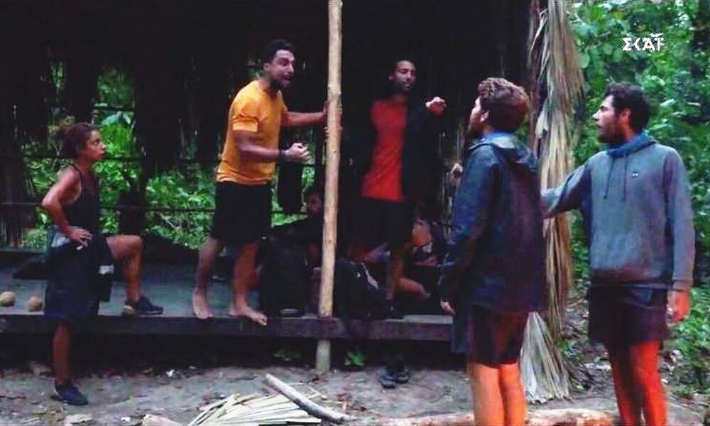 Survivor: Άγριο κράξιμο σε Σάκη - Τρομερή επίθεση από την αδερφή του Τζέιμς (photos+video)