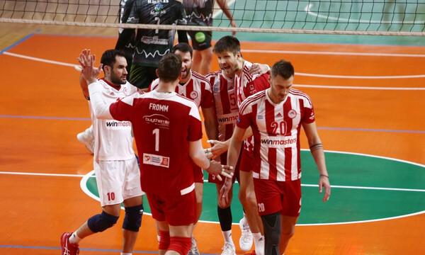 Volley League: Επέστρεψε ο Φοίνικας Σύρου, πέρασε από Νέα Σμύρνη ο Ολυμπιακός