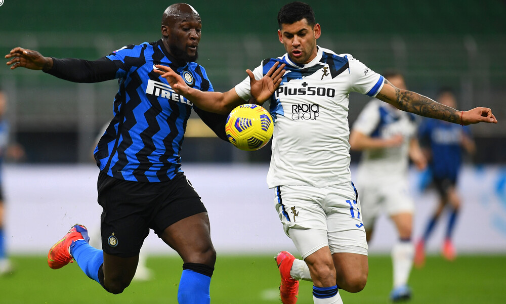 Serie A: Η Ίντερ υπέταξε την Αταλάντα και πλησιάζει τον τίτλο (video+photos)