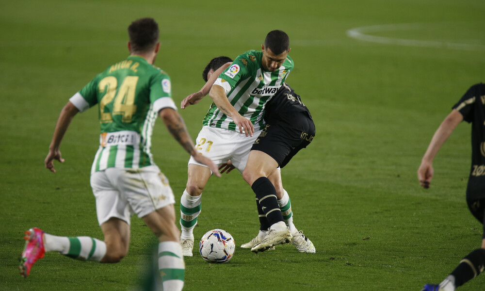 La Liga: Η Μπέτις βλέπει Ευρώπη με απίθανη ανατροπή κόντρα στην Αλαβές! (video+photos)