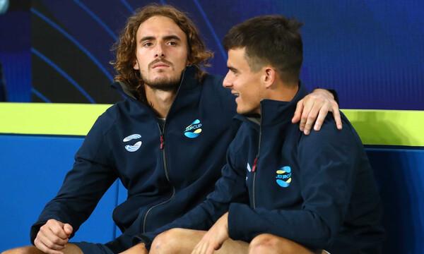 «Αντίπαλοι» τα αδέρφια Τσιτσιπά στη Μασσαλία! Ντεμπούτο για τον Πέτρο σε ATP Tour (photos)