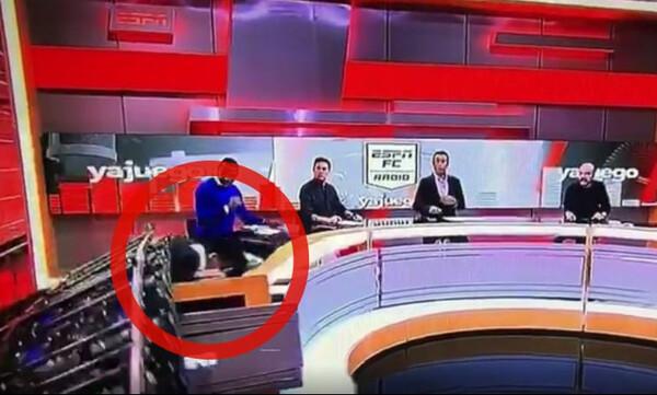 Σοκαριστικό ατύχημα στο ESPN της Κολομβίας! (Video)