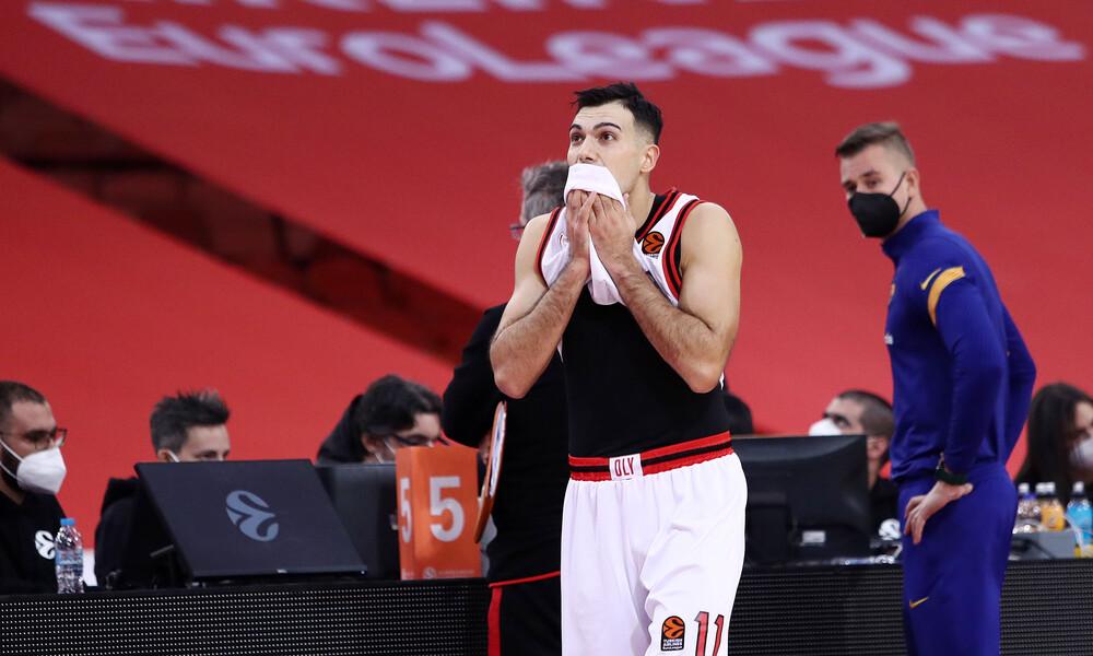 Ολυμπιακός - Σλούκας: «Με πείραξε που χειροκροτήθηκε ο Άντιτς και αποδοκίμασαν εμένα στο ΣΕΦ»