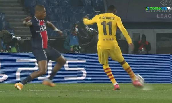 Champions League: Ο Ντεμπελέ έχασε την ευκαιρία να βάλει μπροστά την Μπαρτσελόνα (video)