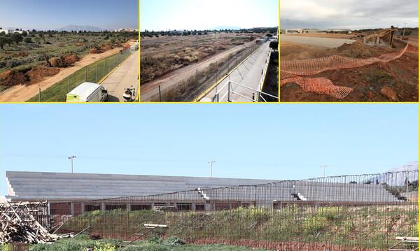 ΑΕΚ: Αναβαθμίζεται και το προπονητικό κέντρο με νέο γήπεδο (photos+video)