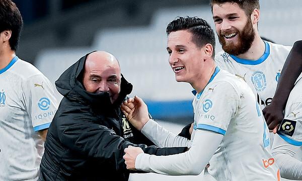 Ligue 1: Δεύτερη σερί νίκη η Μαρσέιγ με Σαμπάολι, νίκη παραμονής η Σεντ Ετιέν (video+photos)