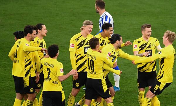 Bundesliga: Η Ντόρτμουντ λύγισε τη Χέρτα και πιέζει για το Champions League (video+photos)