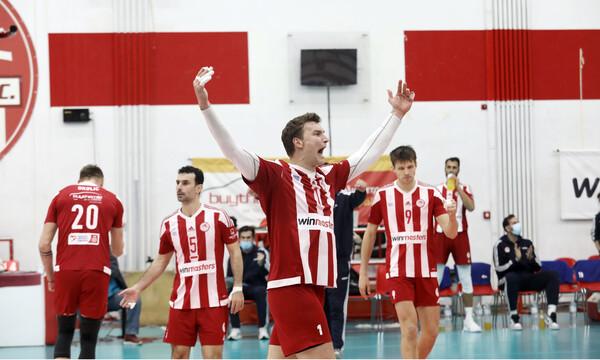 Ολυμπιακός - ΠΑΟΚ 3-2: Πήρε το «θρίλερ» και πλησιάζει τον τίτλο της Volley League
