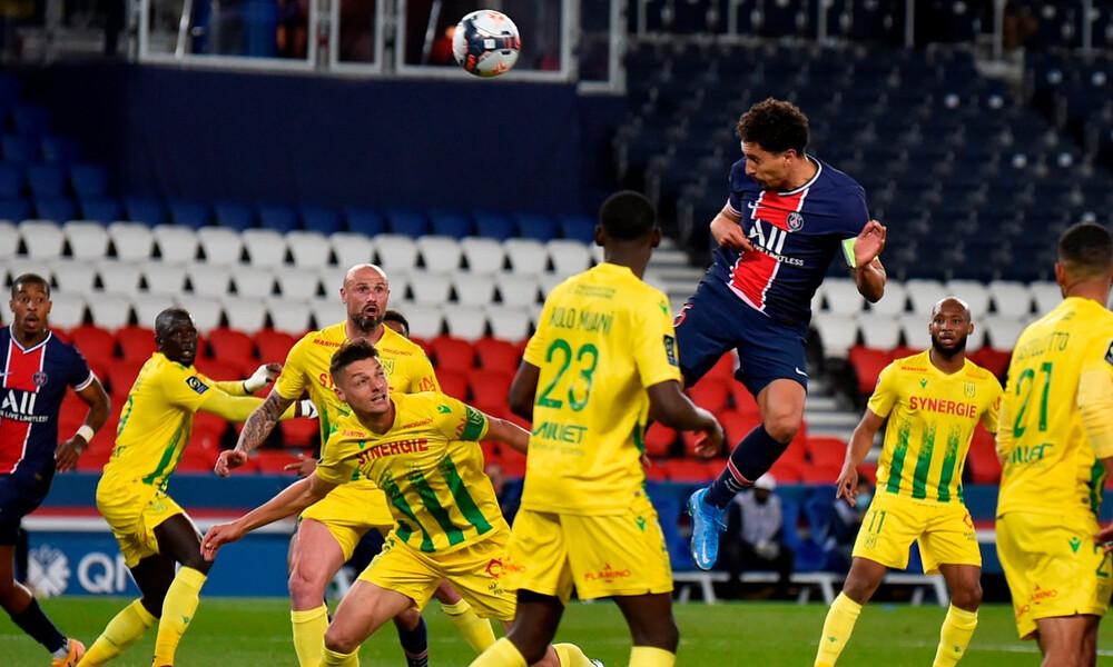 Ligue 1: Είδε... αστεράκια η Παρί από τη Ναντ κι έμεινε μόνη της στην κορυφή η Λιλ! (video+photos)