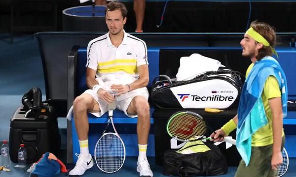 Τένις: Ιστορικό πλασάρισμα για Μεντβέντεφ, στην 5η θέση ο Τσιτσιπάς, 25η η Σάκκαρη (photos)