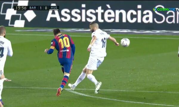 La Liga: Ο Μέσι έπιασε τον Τσάβι και πέτυχε γκολ «ζωγραφιά» μπροστά στον Σιόβα! (video+photos)