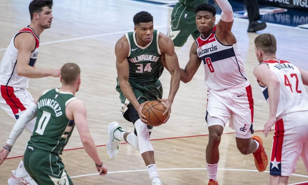 NBA: Νέα νίκη για Μπακς - Εντυπωσιακός Γιάννης (photos+video)