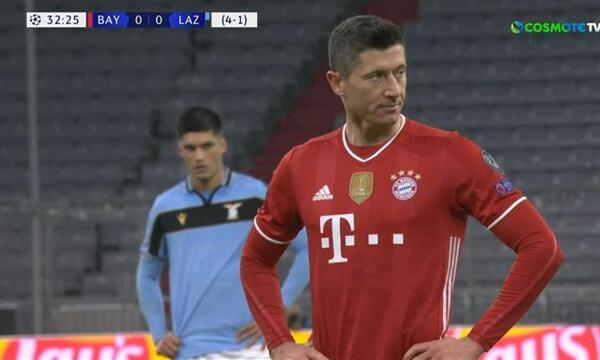 Μπάγερν Μονάχου-Λάτσιο: Με πέναλτι του Λεβαντόφσκι το 1-0 οι Βαυαροί (video)