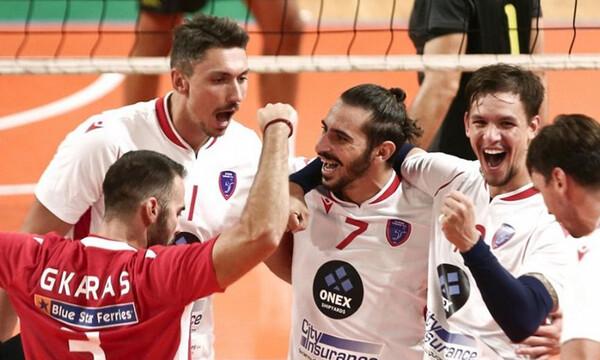Volley League: ΜVP της 9ης αγωνιστικής ο Αντρέ Μπράουν