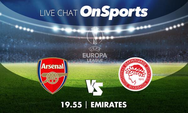 Live Chat Άρσεναλ - Ολυμπιακός 0-1 (τελικό)