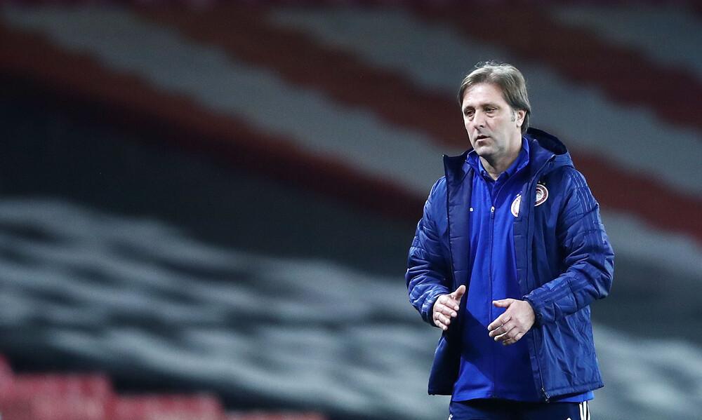 Μαρτίνς: «Μας στοίχισαν τα γκολ στο πρώτο ματς - Κερδίσαμε κύρος στην Ευρώπη»