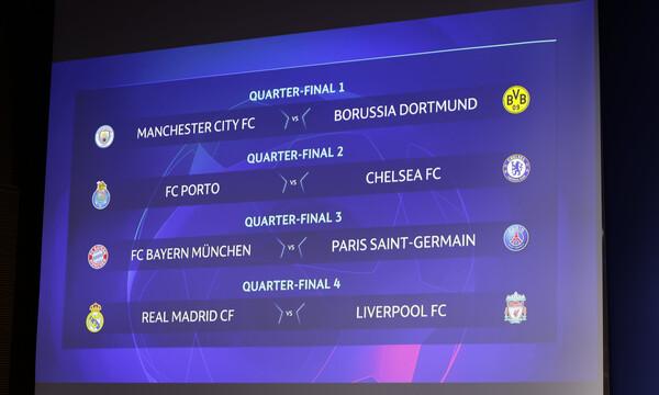 Champions League: Με Παρί η Μπάγερν - Όλα τα ζευγάρια
