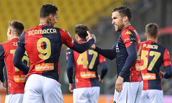 Serie A: Ανατροπή σωτηρίας η Τζένοα! (Video+Photos)