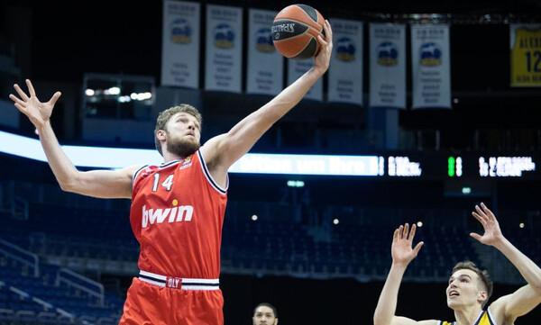 Euroleague: MVP της αγωνιστικής ο Βεζένκοφ