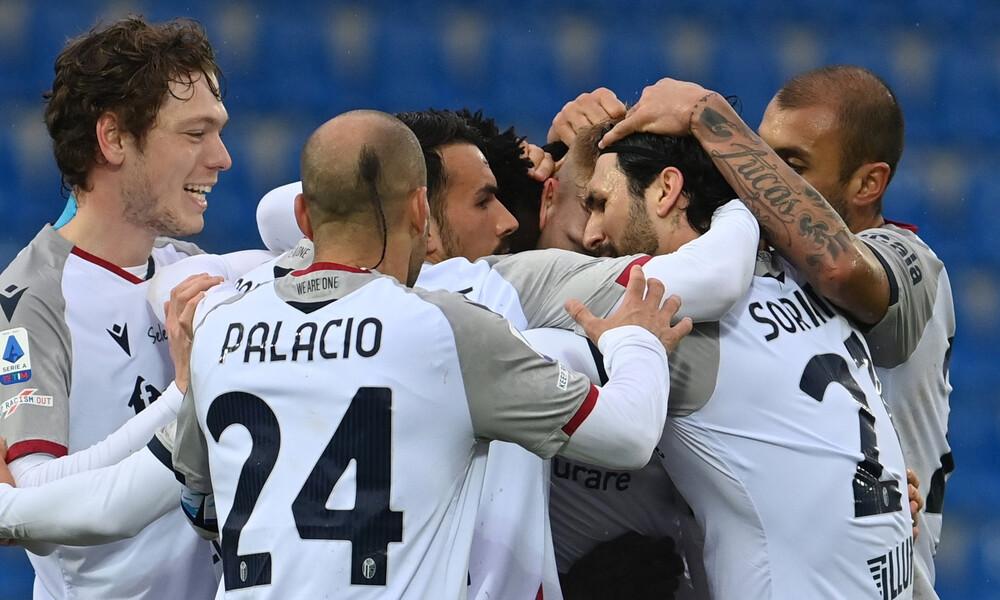 Serie A: Ανατροπή η Μπολόνια που υποβιβάζει την Κροτόνε! (Video+Photos)