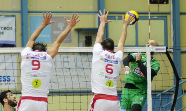 Volley League: Ντέρμπι στον Αγ. Θωμά