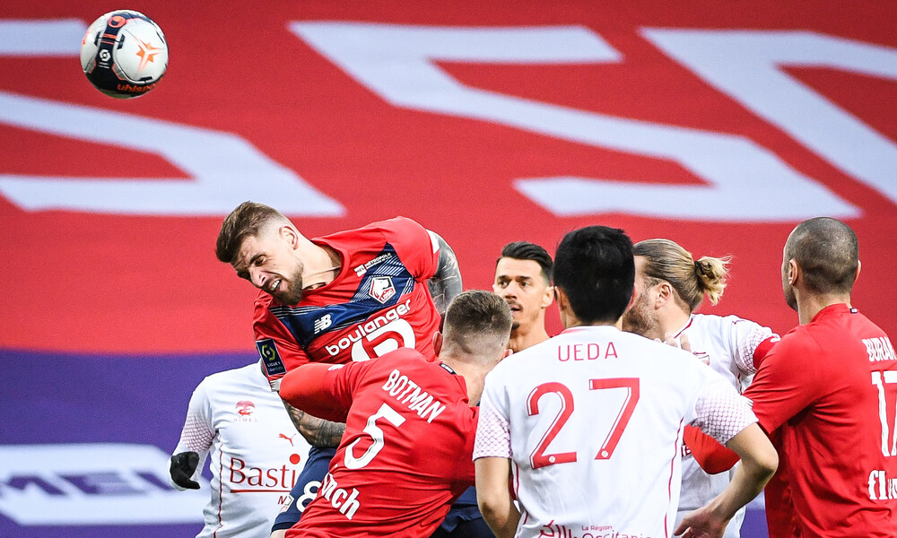 Ligue 1: Τεράστια έκπληξη, η Νιμ έριξε στο καναβάτσο την πρωτοπόρο Λιλ! (photos)