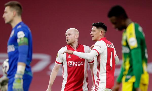 Eredivisie: Ο Άγιαξ ισοπέδωσε την Ντεν Χάαγκ και κάνει περίπατο για το πρωτάθλημα (video+photos)